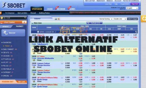 Link Alternatif Judi Online Sbobet Terbaru Tahun Ini